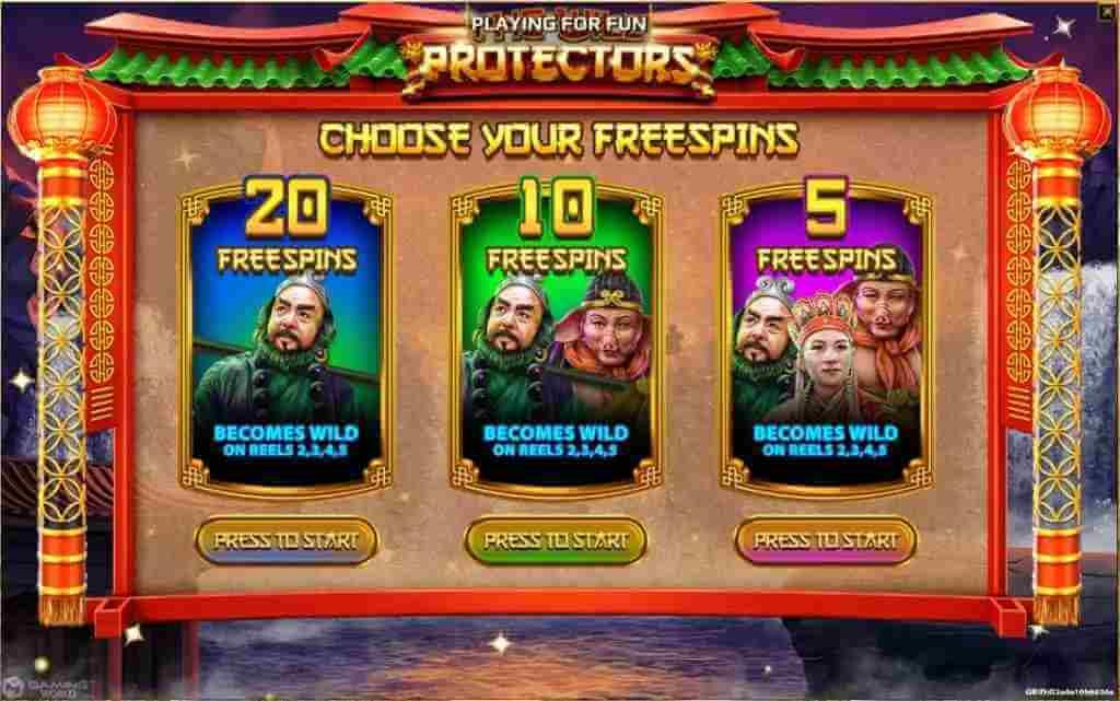 แจ็คพ็อต The Wild Protectors Jack88