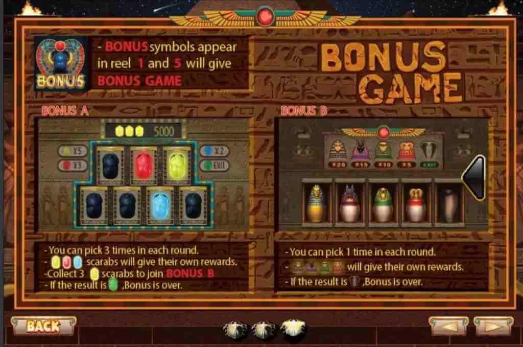 ฟีเจอร์ของเกม Ancient Egypt Jack88