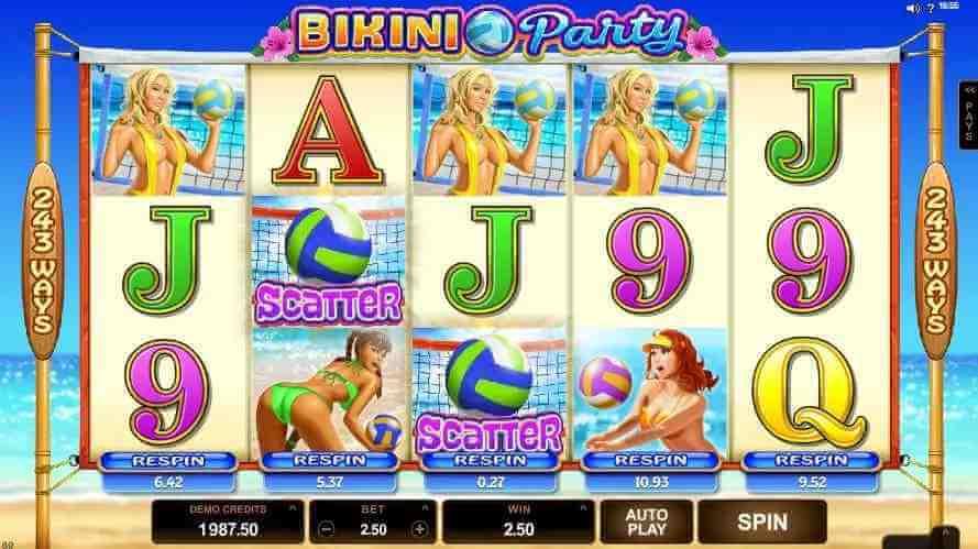 ฟีเจอร์ในเกม Bikini Party Jack88