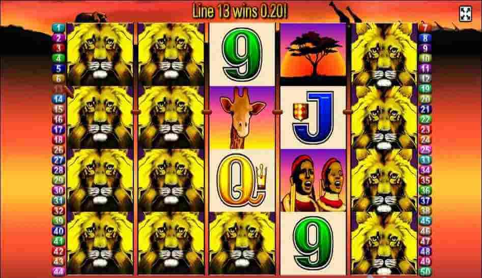 ไลน์ของเกม 50 lions Jack88
