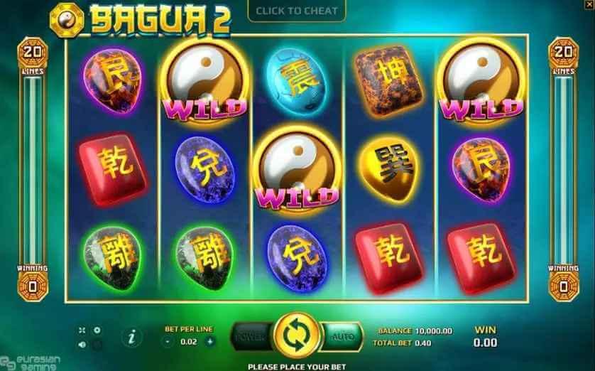 ภาพรวมของเกม Bagua 2 Jack88