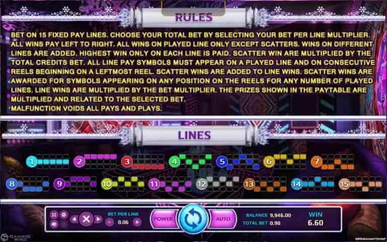 กฏิกาในเกม Enter The KTV Jack88