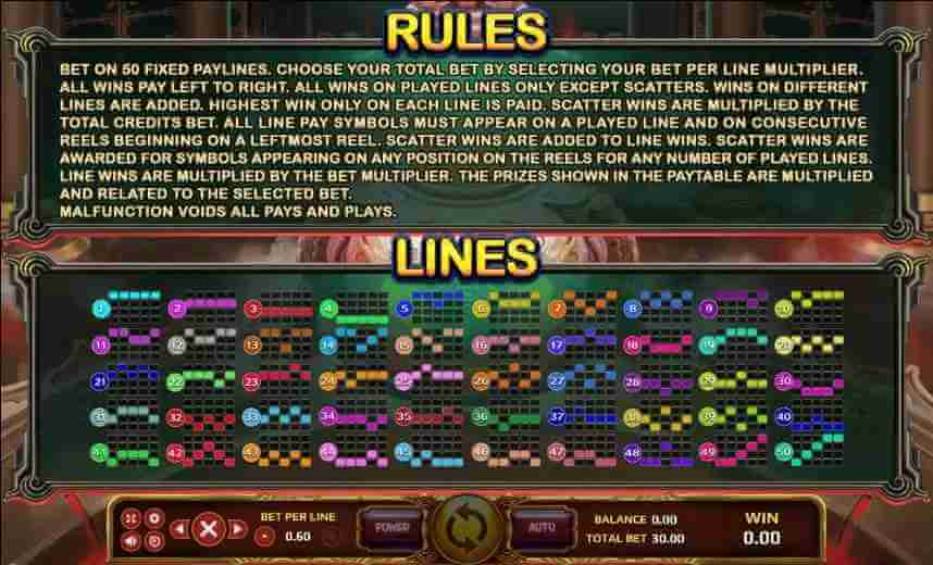 กฎกติกาเกม Jack88