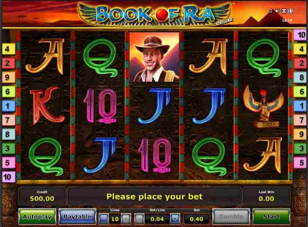 Scatter ในเกม Book Of Ra Jack88