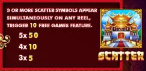 Scatter ของเกม JIN FU XING YUN JACK88