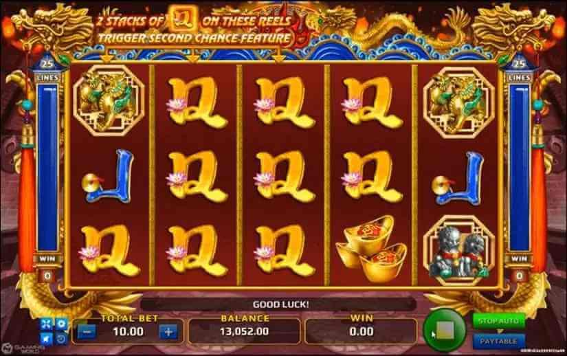 สัญลักษณ์ต่างๆในเกม Dragon Power Flame Jack88