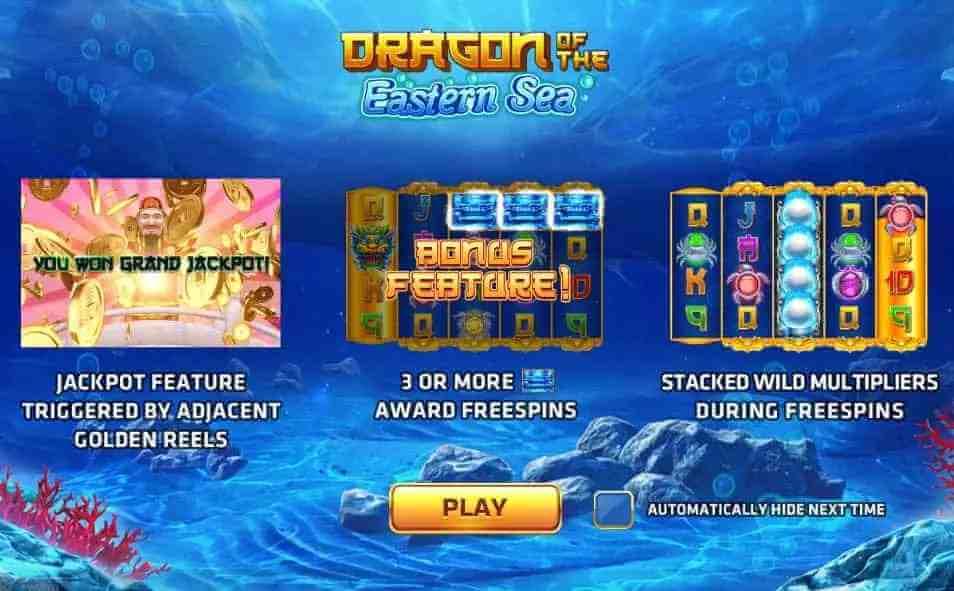 คุณลักษณ์ ภายในเกม Dragon of the Eastern Sea Jack88