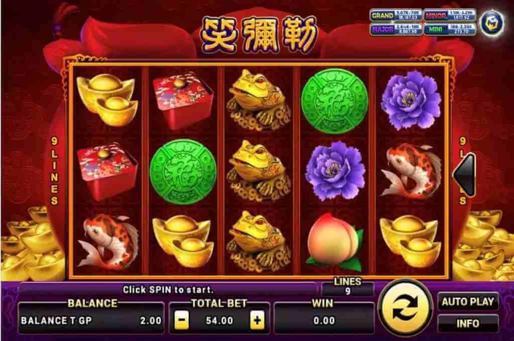 สัญลักษณ์ ในเกม Happy Buddha Jack88