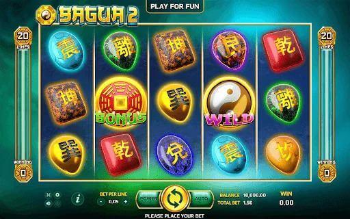 สัญลักษณ์ต่างๆของเกม Bagua 2 Jack88