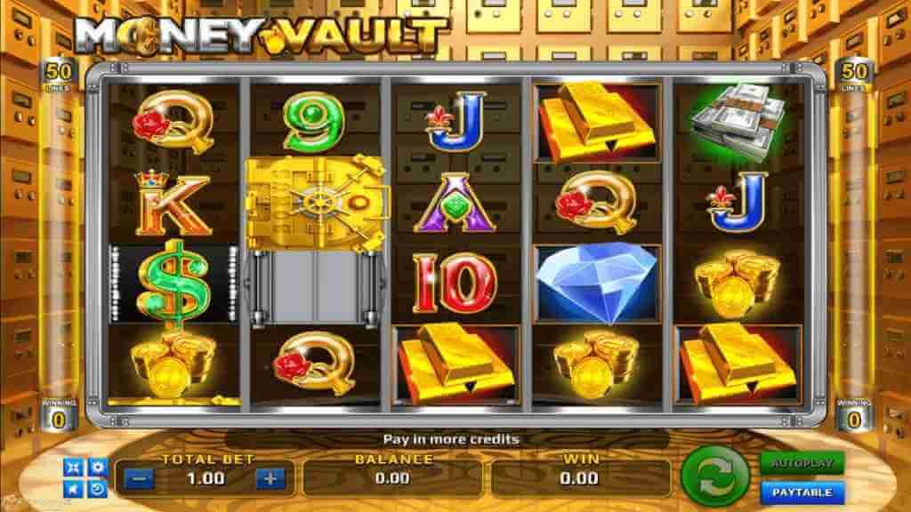 สัญลักษณ์ในเกม รีวิวเกม Money Vault Jack88