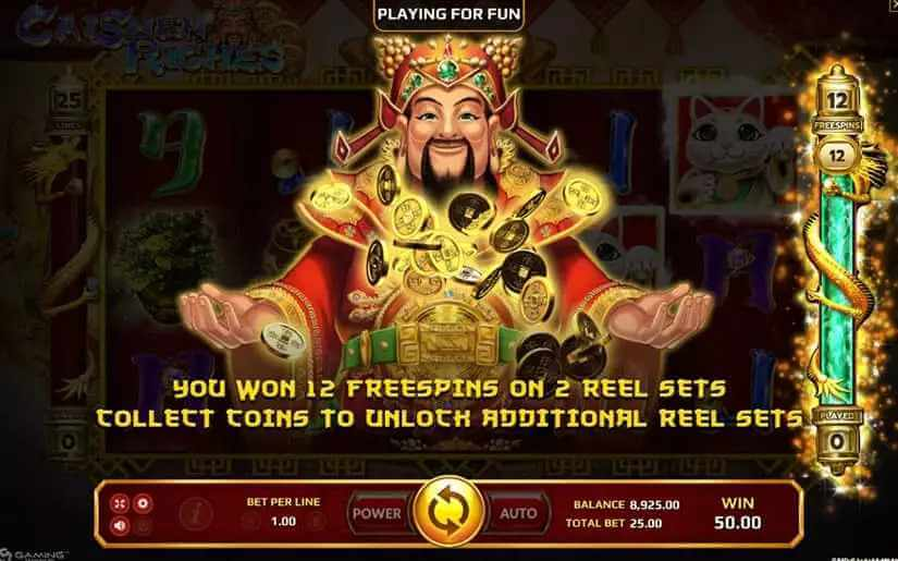 Wild และ Scatter ในเกม Caishen Riches Jack88