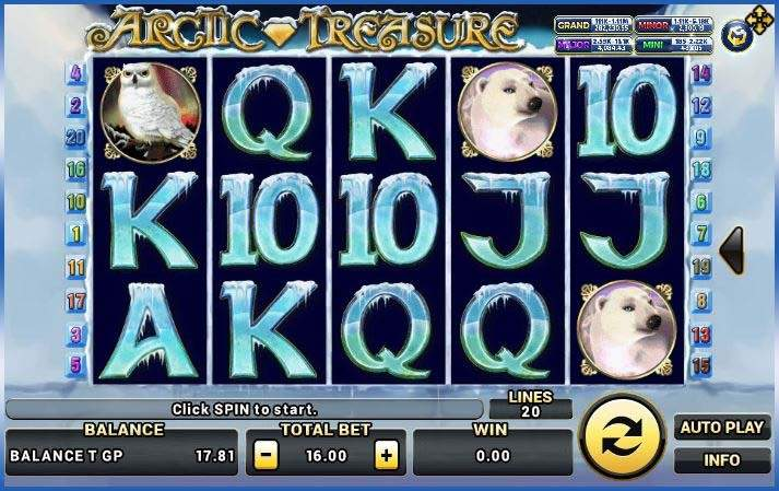 Arctic Treasure เกมส์ slot แจก https://jack88tm.vip/