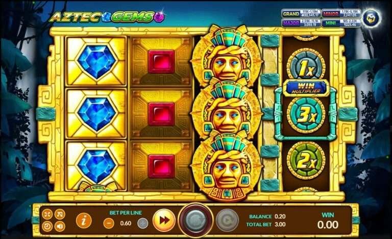Aztec Gems โหลดเกมส์ แจกฟรี https://jack88tm.vip/