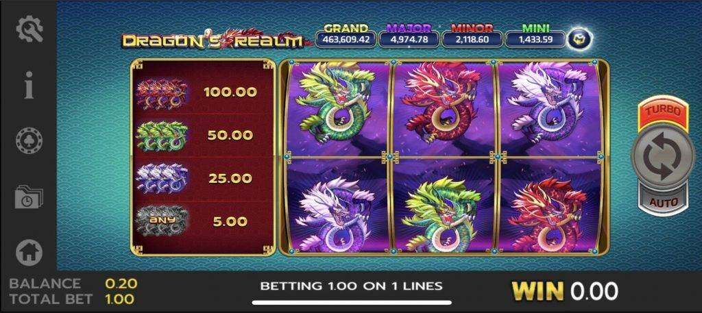 Dragons Realm สูตรโกงเกม Slot เกมบาคาร่า https://jack88tm.vip/