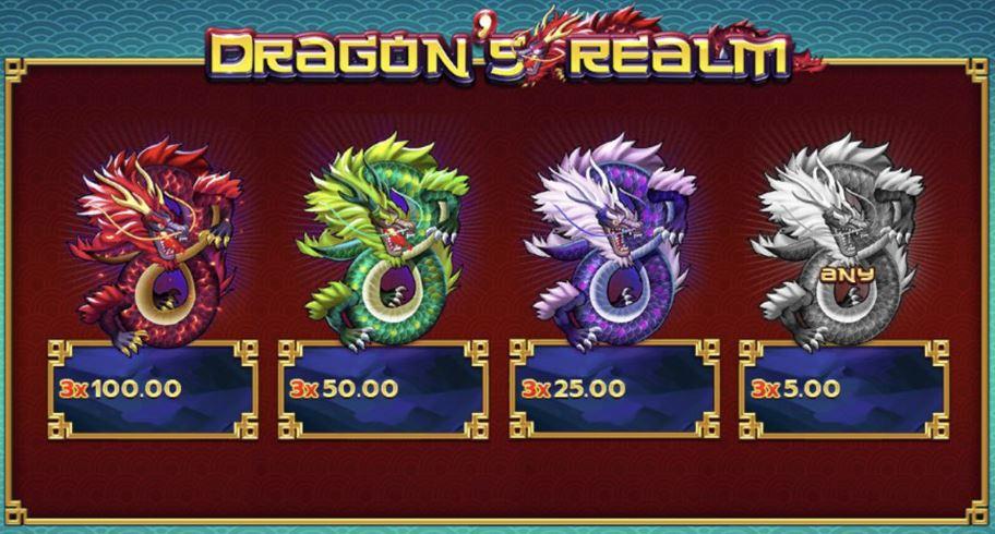 Dragons Realm เกมสล็อต Line https://lin.ee/n4tfYFI