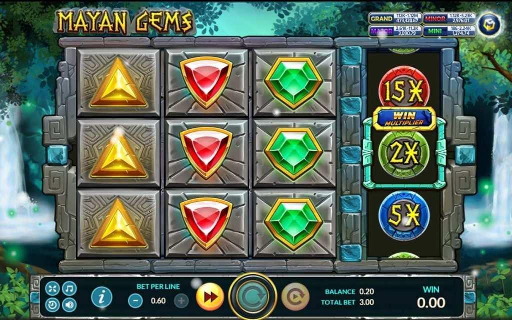 Mayan Gems เกมส์ slot แจก https://jack88tm.vip/