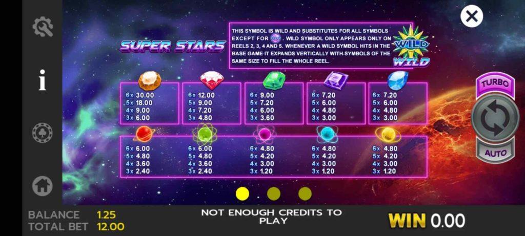 Super Stars สูตรโกงเกม Slot เกมบาคาร่า https://jack88tm.vip/