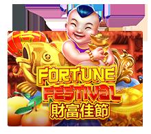 รีวิวเกม Fortune Festival https://jack88tm.vip/