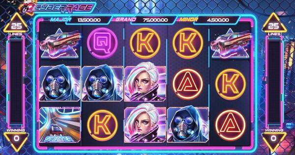Cyber Race รูปแบบของเกม