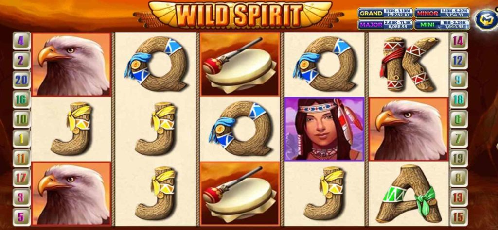 Wild Spirit เกมส์ slot แจก https://jack88tm.vip/