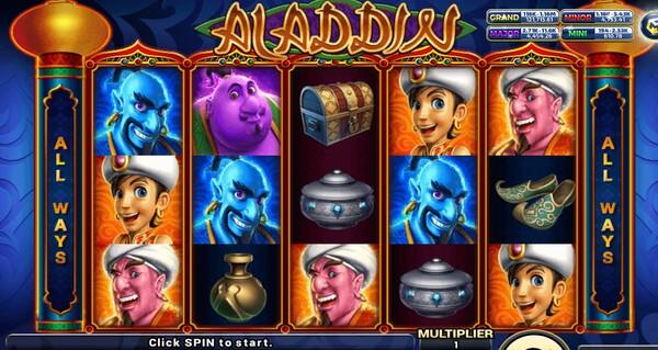 Aladdin รูปแบบเกม