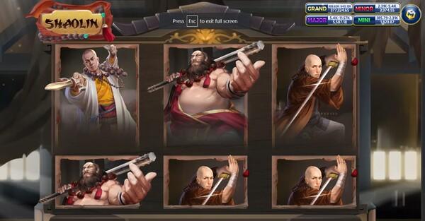 Shaolin รูปแบบของเกม