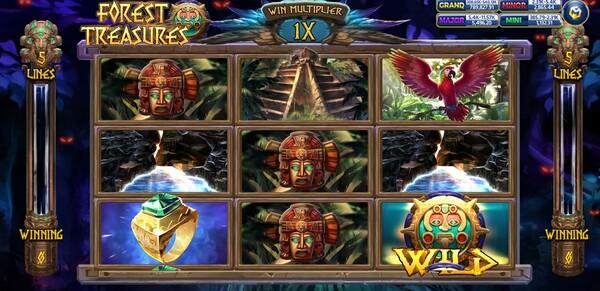 Forest Treasure รูปแบบของเกม