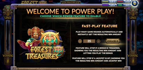 Forest Treasure Power Play