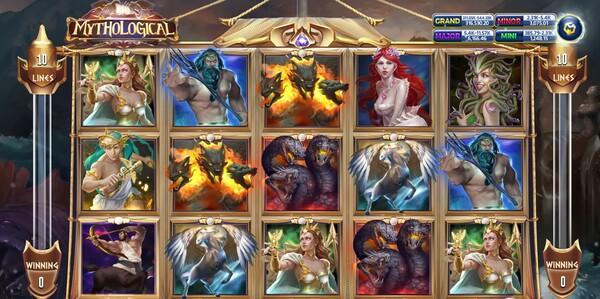 Mythological รูปแบบเกม