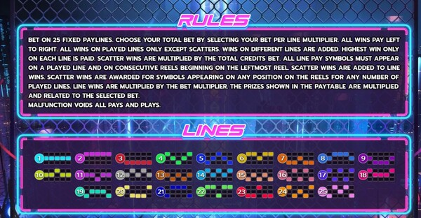 Rules Lines