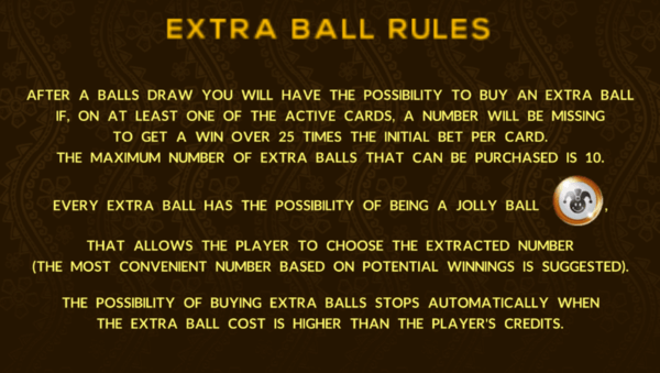 Extra Ball Rules